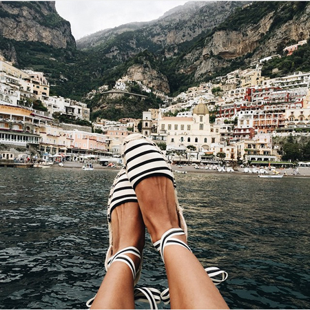Sincerely Jules in Soludos Espadrilles