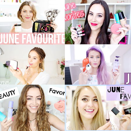 LookMazing's collection of top June Favorites YouTube Videos