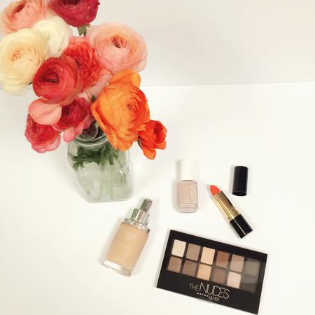 Spring Nude Makeup
