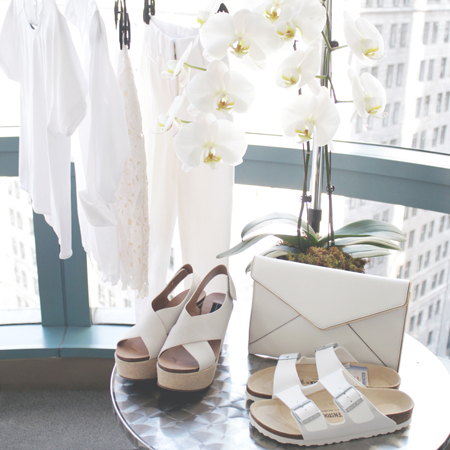 White Essential Pieces for Spring and Summer