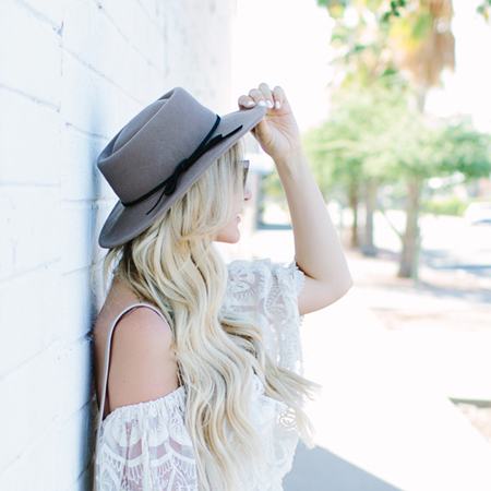 Dash of Darling's Summer Hat Style
